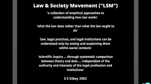 elements of critical legal studies and law u0026 society movements