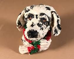 dalmatian ornament etsy