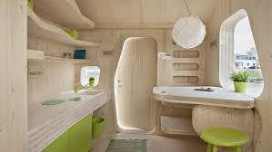 chambre udiante des cabanes en bois comme résidence étudiante le figaro etudiant