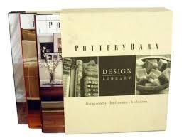 Pottery Barn Boston Ma Pottery Barn Design Library Hardback Book Setliving Rooms