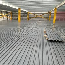 corrugated metal decking b or n deck pick modules pallet racks