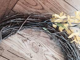 5 minute diy spring wreath lehman lane