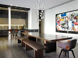 Dining Room Tables Nyc by Sophisticated New York City Loft