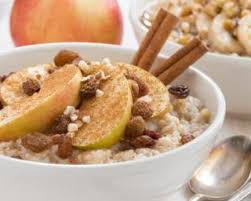 fr recette de cuisine recette de porridge à l avoine pomme et raisins secs