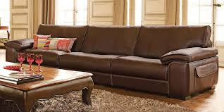 Large Leather Sofa Outstanding Italian Leather Sofa Monte Carlo Calia Maddalena For