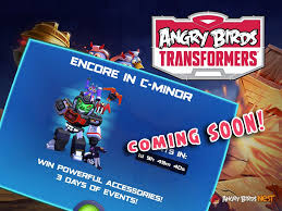 Challenge Angry Angry Birds Transformers Challenge Encore In C Minor Coming Soon