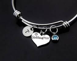 goddaughter charm goddaughter bracelet etsy