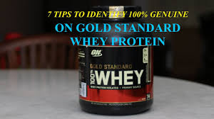 how to identify original optimum nutrition whey protein youtube