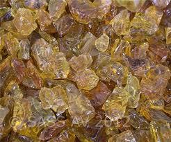 amazon com fireplace glass rocks amber 3 8 3 4