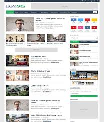 ideas mag blogger template free download themespk