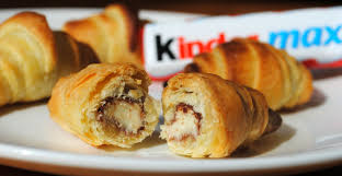 recette maxi cuisine vidéo mini croissants au kinder maxi