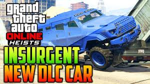 gta 5 heists dlc new vehicle showcase insurgent insurgent 2