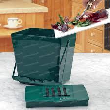 ustensile cuisine bio bio seau anti odeur 5l vert accessoire ustensile cuisine
