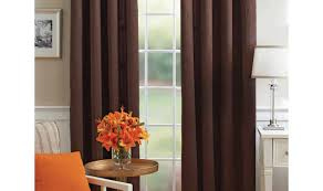 Burnt Orange Kitchen Curtains by Delicate Tags Red White Blue Curtains Pink Purple Curtains