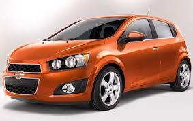 2012 chevrolet sonic orange paint almost as popular as black