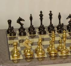 beautiful chess sets solid brass chess set glossy chess board