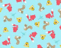 squirrel wrapping paper squirrel bandana etsy