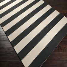 Striped Area Rugs 8x10 Black And White Striped Rug 8x10 Image For Black And White