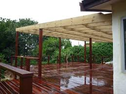 Timber Patios Perth Treated Pine Base With Merbau Laminated Posts U0026 Merbau Decking