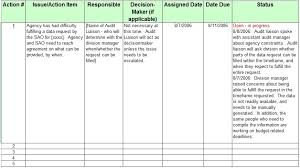 Excel Issue Tracking Template 13 Free Sle Issue Log Templates Printable Sles