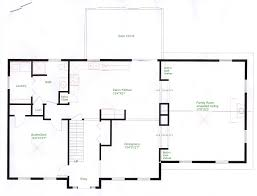 floorplan example of cape style home floorplans pinterest colonial