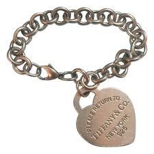 tiffany heart silver bracelet images Tiffany co bracelets up to 90 off at tradesy jpg