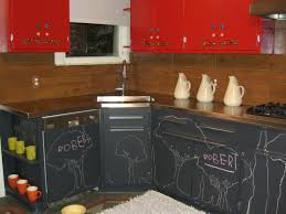 Two Colour Kitchen Cabinets Beautiful Red Painted Kitchen Cabinets Images Amazing Design