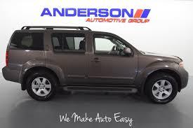 nissan pathfinder xe vs le vehicles for sale anderson nissan