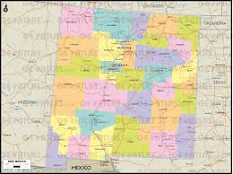 County Map Of Colorado by Geoatlas United States Canada New Mexico Map City