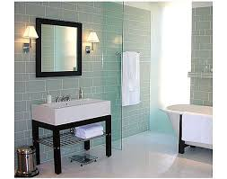 glass tiles bathroom ideas glass tile bathroom ideas in century mosaic tile one