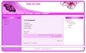 free blogger template xml blogger template pink