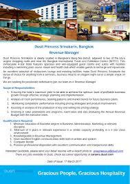 International Marketing Director Job Description Dusit International Linkedin