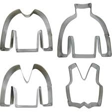 sweater cookie cutter sweater cookie cutter set tin