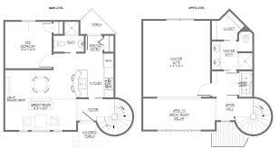 Modern 2 Story House Plans Floor Plans 2 Story Ahscgs Com