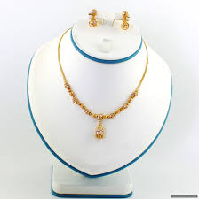 beads necklace sets images 22ct indian gold ball bead necklace set necklace sets indian JPG