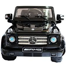 mercedes g wagon matte black mercedes benz big remote control electric ride on g55 amg g wagon