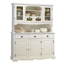 buffet de cuisine en bois buffet vaisselier blanc de style anglais achat vente buffet