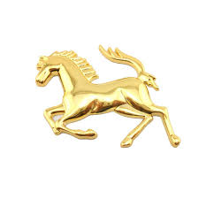 ferrari horse 3d logo picture more detailed picture about 3d logo zinc alloy
