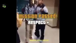 Respect Meme - mission passed respect meme black boy youtube