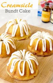 mini creamsicle bundt cake its yummi bites of food and life