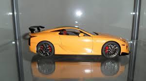 lexus lfa yellow tamiya lexus lfa nurburgring edition under glass model cars