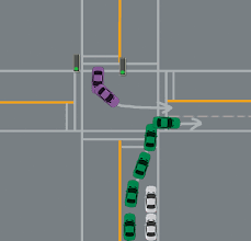 8 things to remember about turning right on a green light