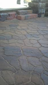 patio ideas flagstone pavers natural stone menards patios home