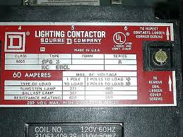 square d lighting contactor class 8903 wiring diagram pole