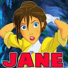 draw jane disney u0027s tarzan easy step step