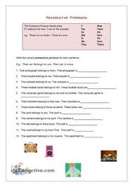 demonstrative pronouns worksheets pronoun worksheets and articles