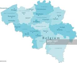 World Map Regions by Belgium Vector Map Regions Isolated Vector Art Getty Images
