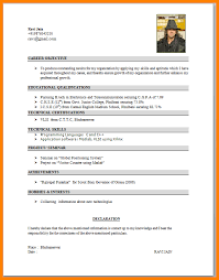 basic resume format for engineering students 9 curriculum vitae format for engineering students mail clerked
