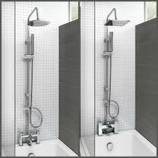 shower head attachment for taps showers decoration bath shower mixer thermostatic valve tap dual square head rail hose handheld