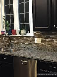 metal kitchen backsplash brown metal glass mixed mosaic kitchen backsplash tile